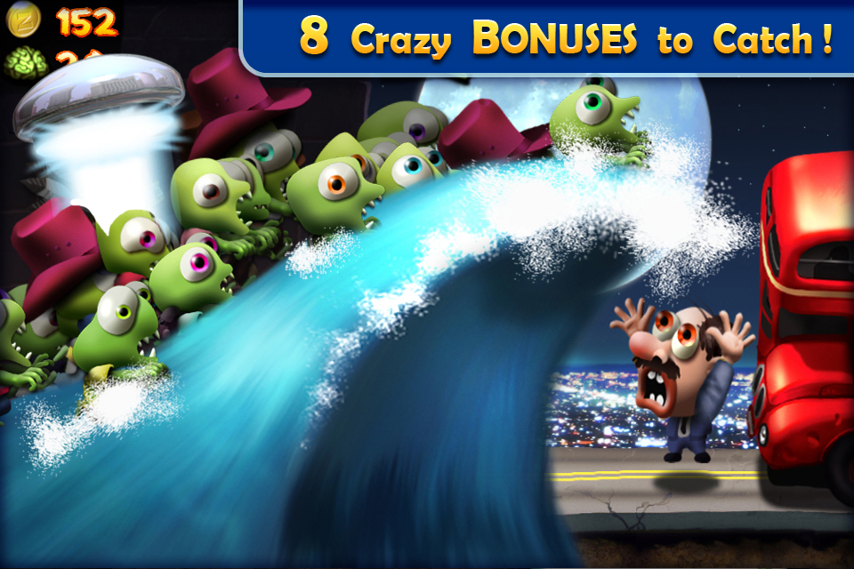 Zombie Tsunami iPhone, iPad Screenshot